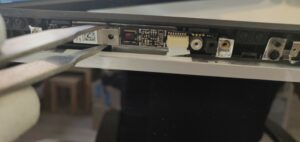Replacing camera on a laptop